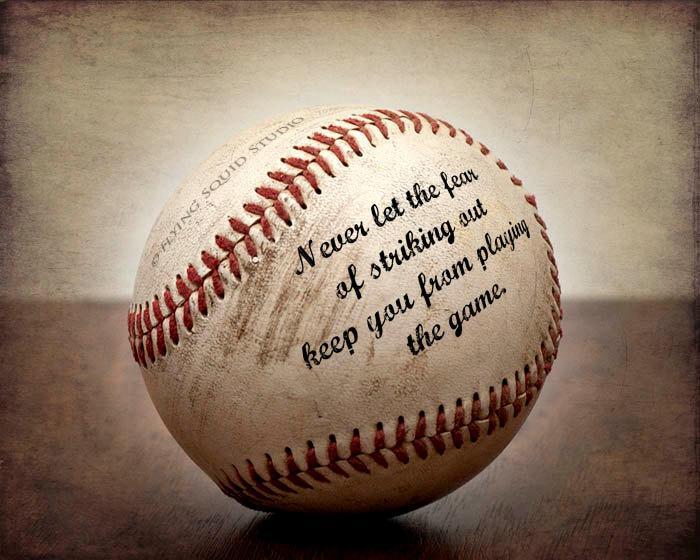 Vintage Baseball Quotes