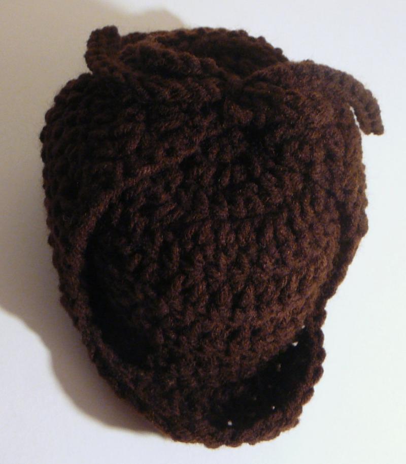 Crochet Deerstalker Hat Pattern : #