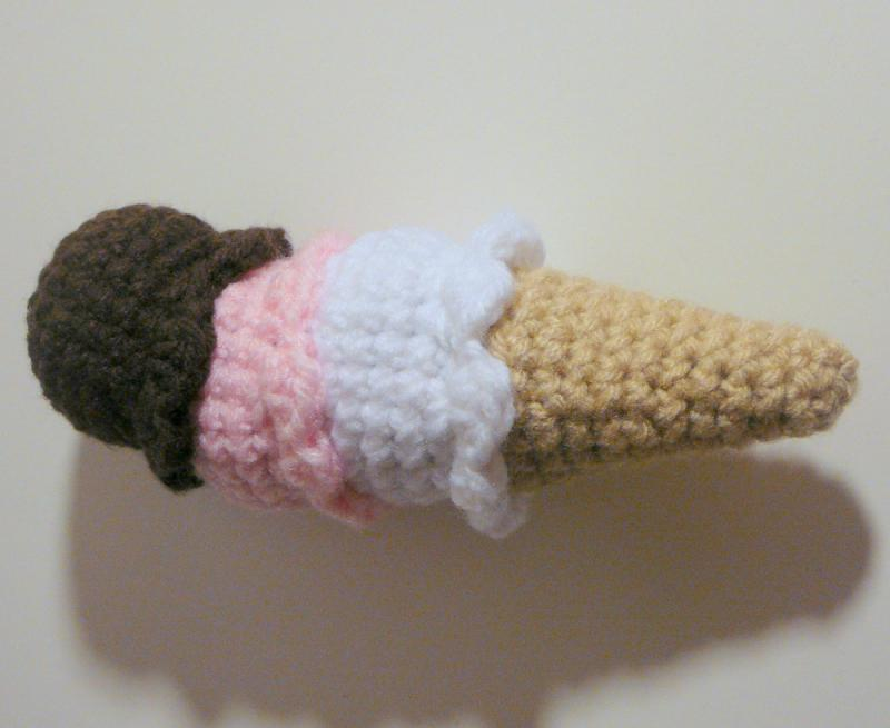 Amigurumi Ice Cream Pattern : #