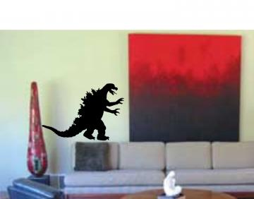 Godzilla Decal Sticker Wall Art Teen Kid Boy Toy M