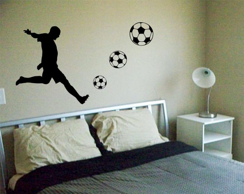 click to enlarge image soccer wall decals amp wall stickers zazzle
