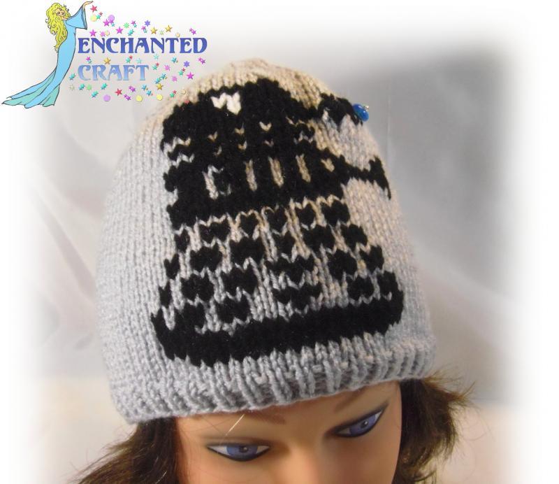 Knitting Pattern For Dalek Hat : Click to Enlarge Image