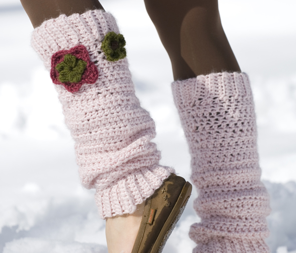 Crochet Free Patterns For Leg Warmers : Click to Enlarge Image