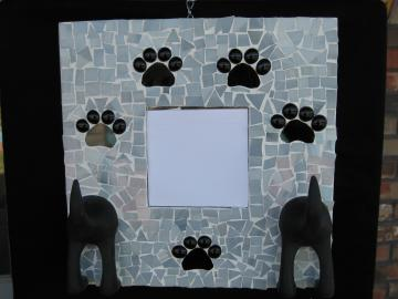 Adorable Mosaic Mirror for  your Pet   MM-2