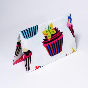 Business Card Case - White Cupcake