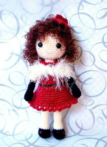 Crochet Pattern Central - Free Dolls, Crocheted Crochet Pattern