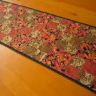 Handmade Table Runner Autumn Leaves