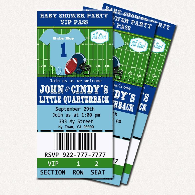 Football ticket invitations template filmwisefo