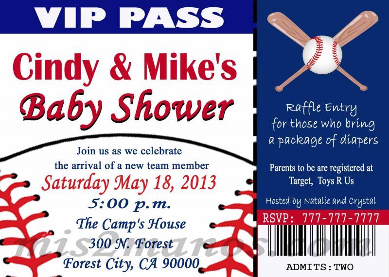 baseball ticket invitation template free - Keni.candlecomfortzone.com
