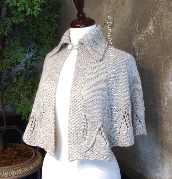 Knitting Patterns Capes Shawls : #