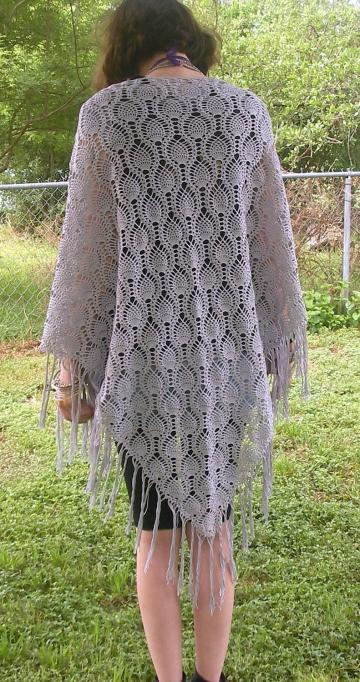Nested Pineapple Shawl - PDF Pattern