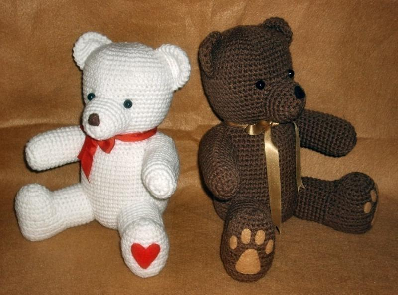 Crochet Teddy Bear : Crochet Teddy Bears - PDF Pattern