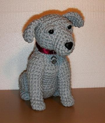 Precious Puppy Crochet Pattern