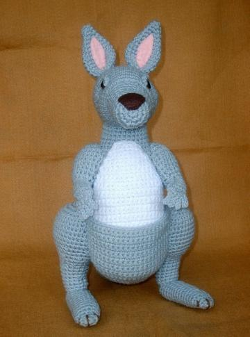 Crochet Kangaroo - PDF Pattern