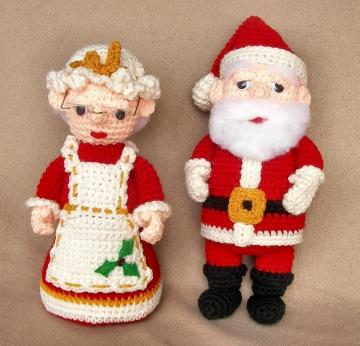 Santa Claus - Scroll Saw Patterns - Christmas Crafts - Free
