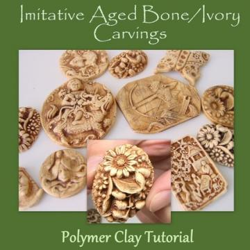 Polymer Clay Faux  Ivory and Bone Carving Tutorial