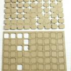 chipboard corner squares -2 pcs