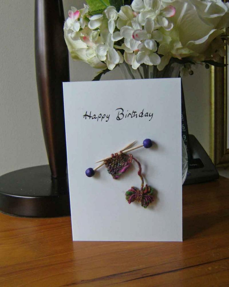 Happy Birthday Knitting Photo : Birthday greetings for knitters