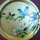 Elite Round Tray with Birds