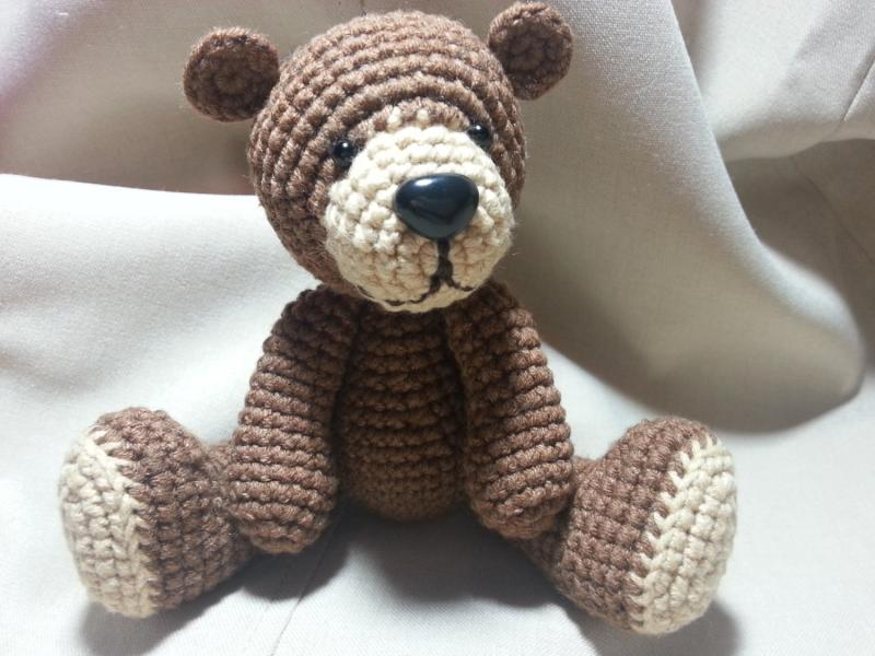 Free Crochet Bear Face Pattern Pakbit For