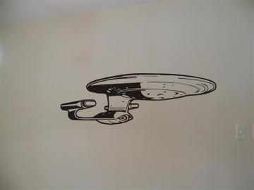 Star Trek USS Enterprise Premium Vinyl Wall Graphic