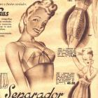 1945 Latina Foundation Garment Fashion. Corseterias Venus/ Venus Corsets