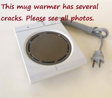 Dazey Mug Warmer - High Wattage - 25 Watts - Vintage Used