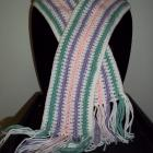 Toddler Scarf-Pastel Stripe