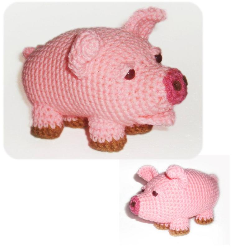 PIG CROCHET PATTERNS – Easy Crochet Patterns
