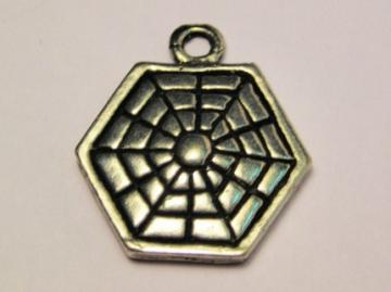 100 Spider Web Charms in time for Halloween