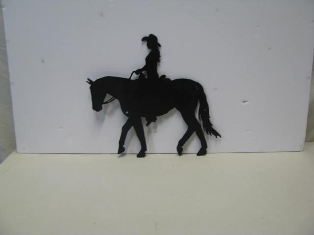 Horse Silhouette Wall Art Metal Wall Art Silhouettes