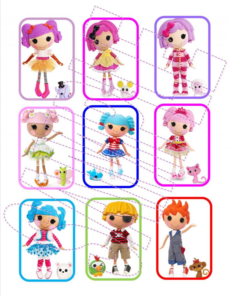 Sew Perfect Lalaloopsy party games and printables to create a DIY lalaloopsy birthday party. LalaLoopsy party games and crafts - bottle cap necklace tutorial. Check out this board of ideas featuring tips, games, decor and printables for a Lalaloopsy party.