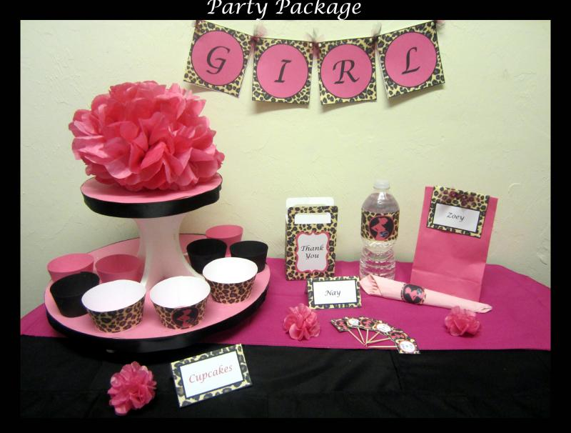 Leopard Print Baby Shower Themes Baby Interior Design